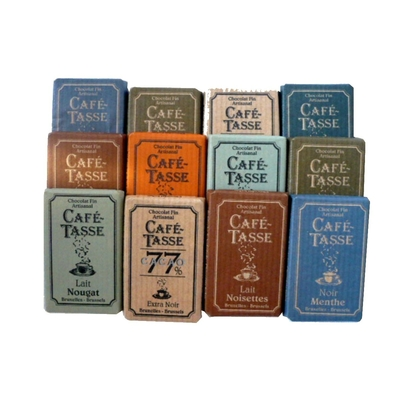 Café Tasse 12 mini tablettes