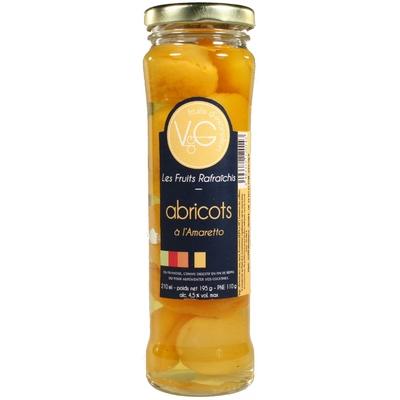 Abricots rafraîchis à l'Amaretto 210 g