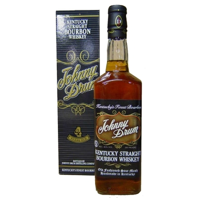 Bourbon  Kentucky Johnny Drum 4 ans 43°
