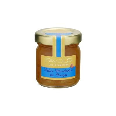 """Confiture """"Délice Mandarine au Nougat"""""""