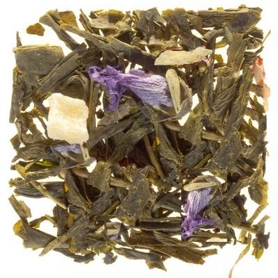 Thé vert parfumé à la Violette fleur