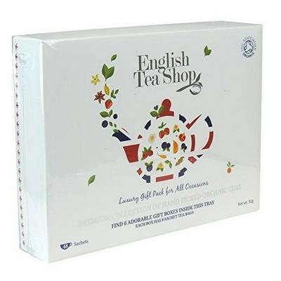 Coffret 48 sachets de thés et infusions (6 variétés)