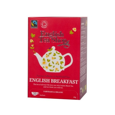 Thé noir English Breakfast BIO - 20 sachets