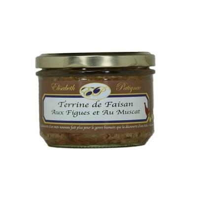 Terrine de Faisan aux Figues et au Muscat - 180 g