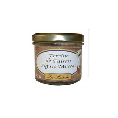 Terrine de Faisan aux Figues et au Muscat - 90 g