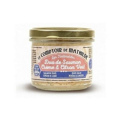 Duo de Saumon - Crème & Citron Vert