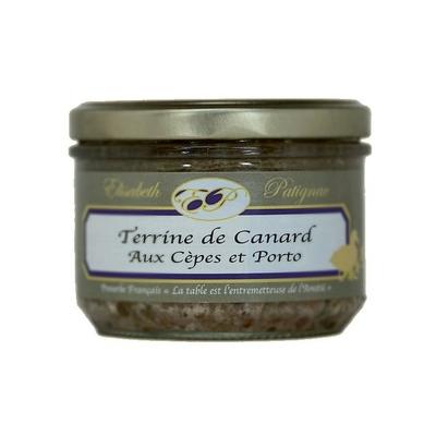 Terrine de Canard aux Cèpes et Porto - 180 g