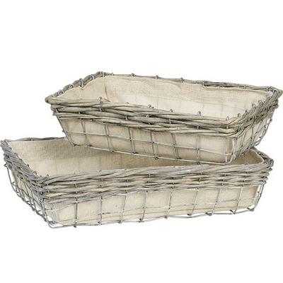 Corbeille pouvant contenir 4 à 8 produits