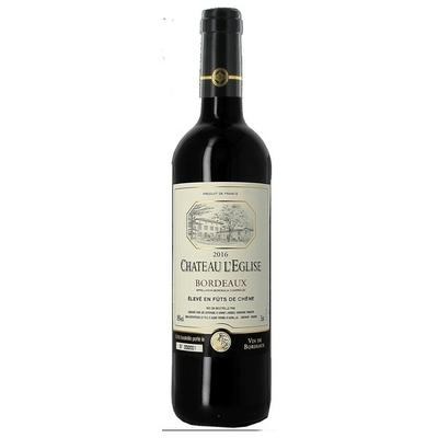 """Bordeaux """"Château l'Eglise"""", 75 cl"""
