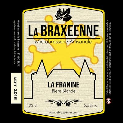 Bière blonde La Franine BIO