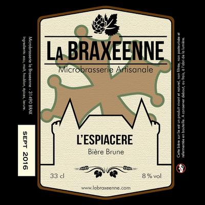 Bière brune L'Espiacère BIO