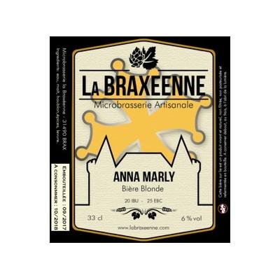 Bière blonde Anna Marly BIO