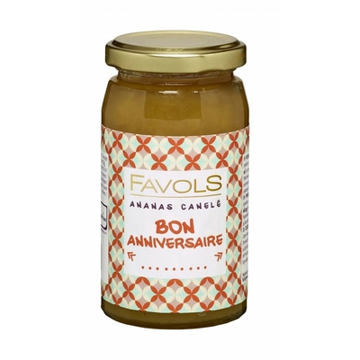 Bon anniversaire - Ananas canelé