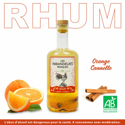 Rhum Orange cannelle BIO