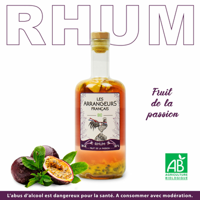 Rhum fruits de la Passion BIO