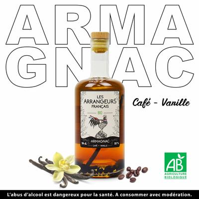 Armagnac café vanille BIO