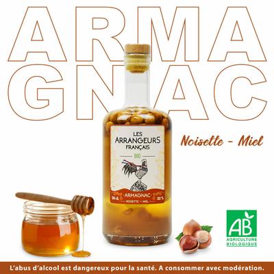 Armagnac noisette miel BIO