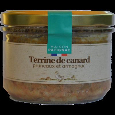 Terrine de canard, pruneaux et Armagnac, 180 g