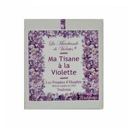 La Marchande de Violettes tisane à la violette