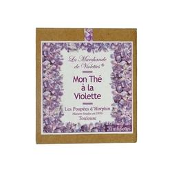 La Marchande de Violettes thé à la violette