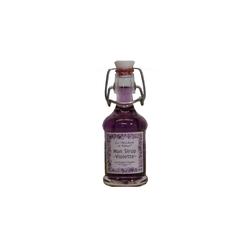 La Marchande de Violettes Sirop mignonette à la violette 1
