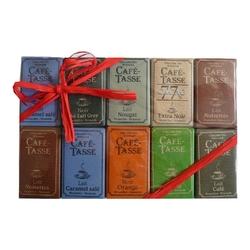 Cafe tase mini tablette chocolat assortis