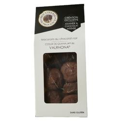 Biscuiterie de provence Macaron chocolat valrhona