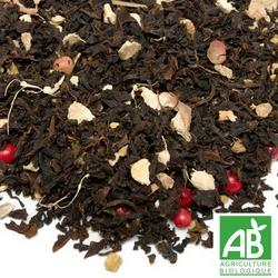 Passion brulante thé bio BIO la route des comptoirs