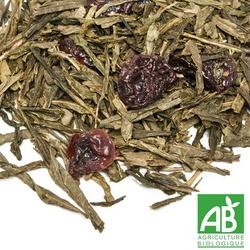 Le temps des cerises thé bio BIO la route des comptoirs