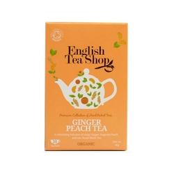English tea shop thé gingembre pêche