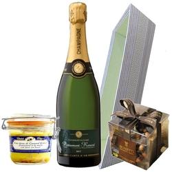 PERRINE panier garni avec champagne