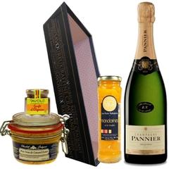 CESARINE Coffret de noel avec champagne