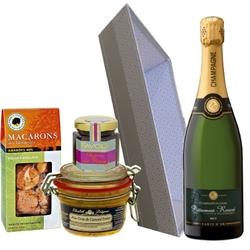 MAX Panier gourmand champagne et foie gras