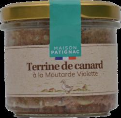 Terrine canard à la moutarde violette Patignac