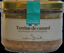 Terrine de canard pruneau et armagnac Patignac