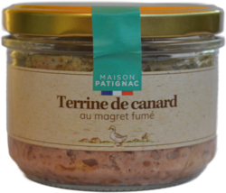 Terrine canard magret fumé Patignac
