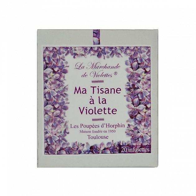 Ma tisane la violette violette de toulouse violette - Comptoir gourmand toulouse ...