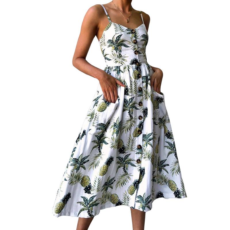t-2018-D-impression-De-Courroie-Floral-Dot-Longue-Boho-Boh-me-Plage-Robe-Femmes
