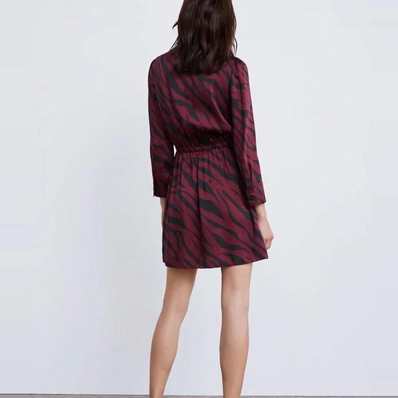 Boho-2019-printemps-imprim-l-opard-robe-femmes-mini-robe-cor-enne-l-gante-taille-Sexy