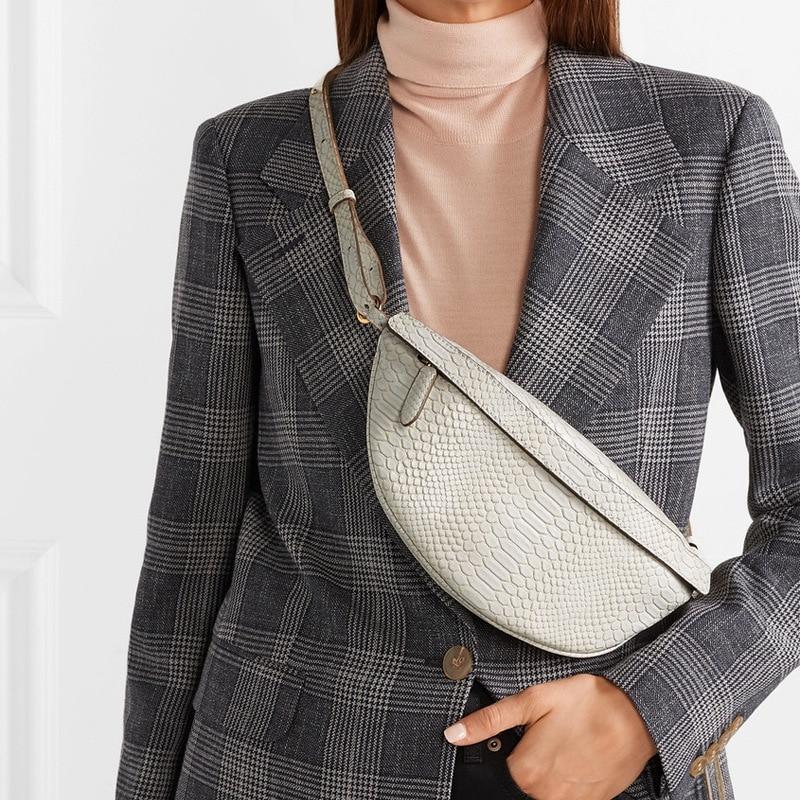 Serpentine-Waist-Bag-Women-High-Quality-Simple-Snake-Pattern-Soft-Tassels-Chest-Bag-Belt-Ladies-Casual