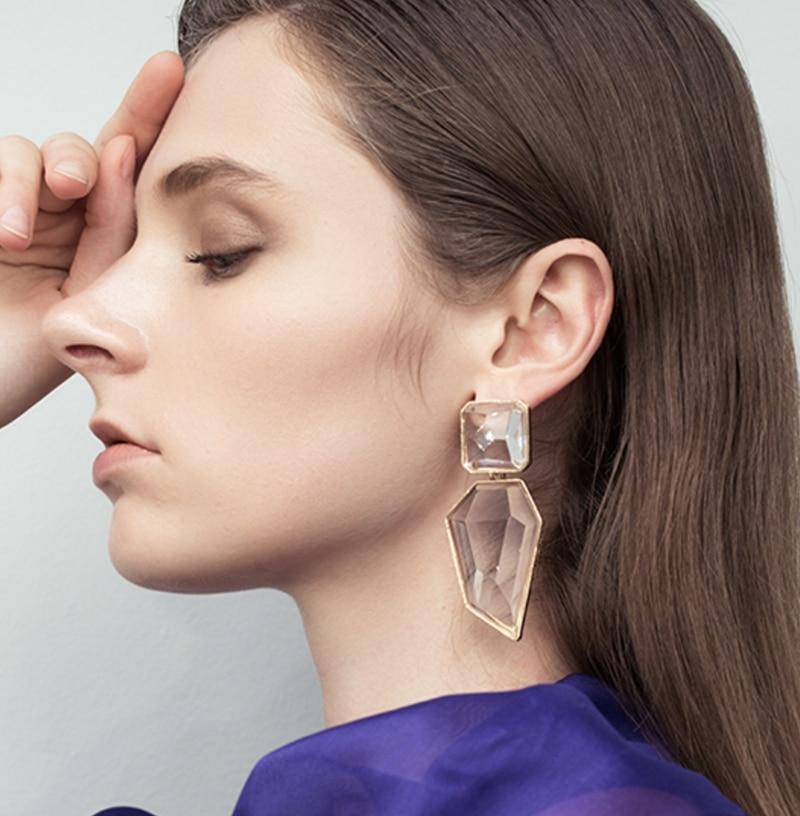 JURAN-Trendy-ZA-Resin-Women-Party-Drop-Earrings-Bohemian-Vintage-Dangle-Statement-Earring-Jewelry-Wedding-Party