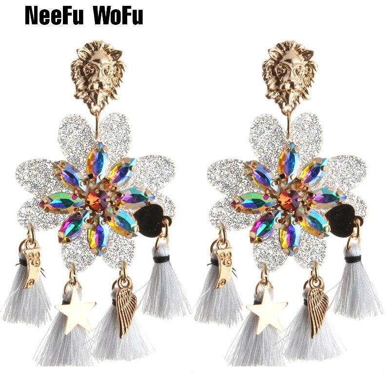 NeeFu-WoFu-nouveau-boucles-d-oreilles-goutte-r-sine-boucle-d-oreille-gland-grande-boucle-d
