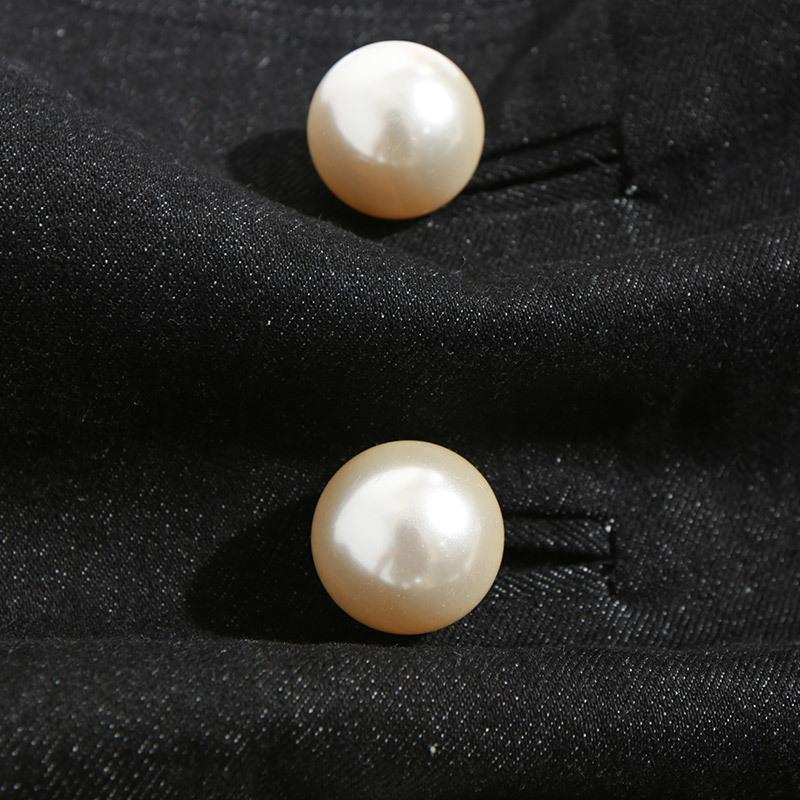 MENKAY-Mode-Femmes-cowboy-tissu-ceinture-Strass-Perle-lastique-Ceinture-Femmes-de-trois-boucle-ceinture
