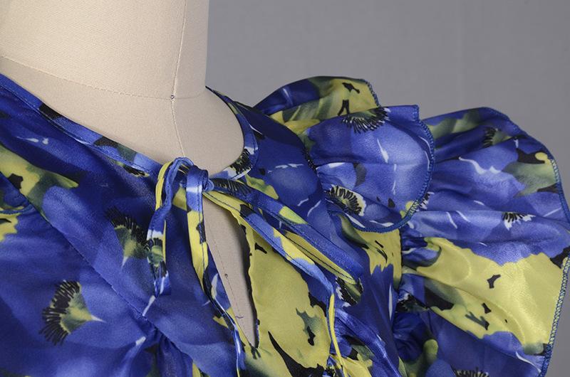MENKAY-Imprimer-Sans-Manches-Robe-Femme-Ruches-Patchwork-Poche-Midi-Robes-Longues-Grande-Taille-D