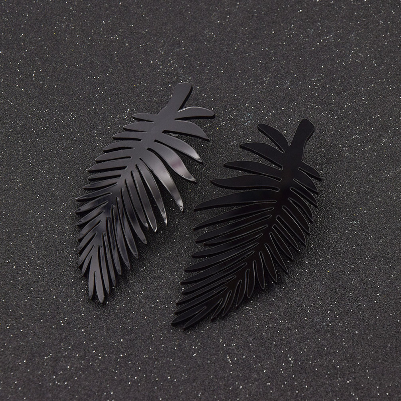 fashion-lychee-Fashion-Women-Oversized-Punk-Leave-Leaf-Earrings-Hip-Hop-Acrylic-Dangle-Earrings