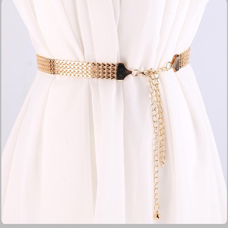 110-cm-Long-Femelle-Ceinture-Grande-vague-motif-Ceintures-pour-Femmes-Mode-Robe-Large-Cha-ne
