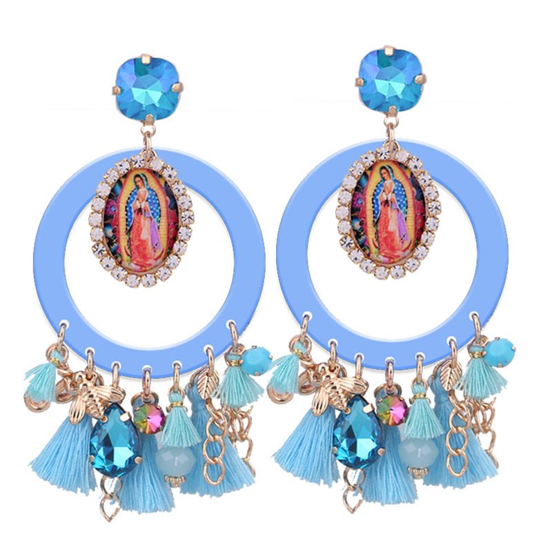 Sehuoran-Gland-Boucles-D-oreilles-Pour-Femme-Angle-Ronde-Pendients-Longue-Balancent-Boucles-D-oreilles-Boho