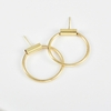 New-Fashion-Jewelry-Punk-Geometric-Shape-Minimalist-Round-Tube-Earrings-Oorbellen-Designer-Earrings-For-Women-Jungkook
