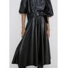 Fandy-Lokar-Faux-Leather-Skirts-Women-Fashion-Buttons-PU-Leather-Skirt-Women-Elegant-Tie-Belt-Waist