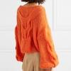 YNZZU-2019-nouveaut-Orange-surdimensionn-femmes-chandail-automne-o-cou-lanterne-manches-femme-pull-mode-tricot